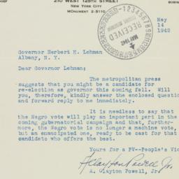 Letter : 1942 May 14