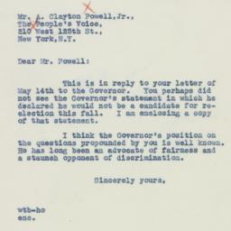 Letter : 1942 May 16