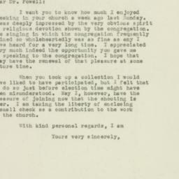 Letter: 1949 November 15