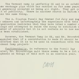 Ephemera : 1952 June 12