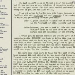 Letter : 1952 June 15