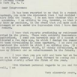 Letter : 1953 December 21