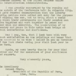 Letter : 1943 December 13