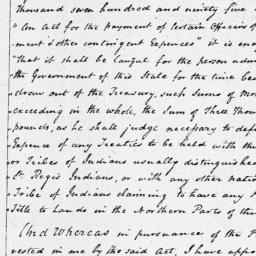 Document, 1795 August 27