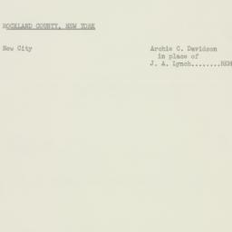Memorandum: 1956 February 10