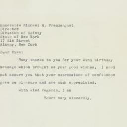 Letter : 1958 April 12