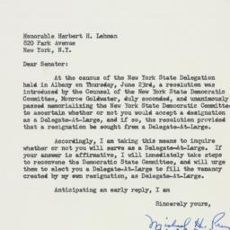 Letter: 1960 June 24