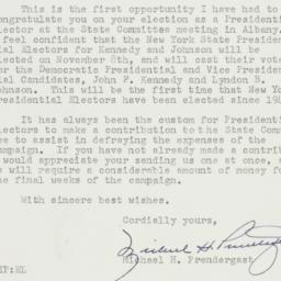 Letter : 1960 October 18