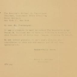 Letter: 1960 December 20