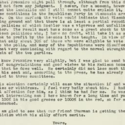 Letter : 1957 September 4