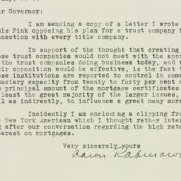 Letter : 1934 December 10