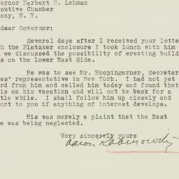 Letter : 1935 September 6