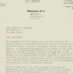 Letter : 1930 September 17