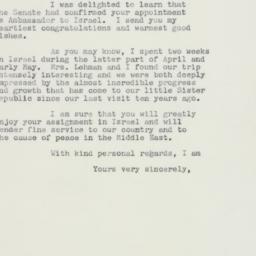 Letter : 1959 June 9