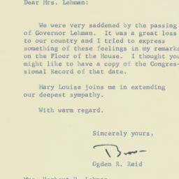 Letter : 1963 December 18