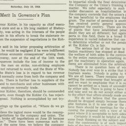 Clipping : 1954 July 10