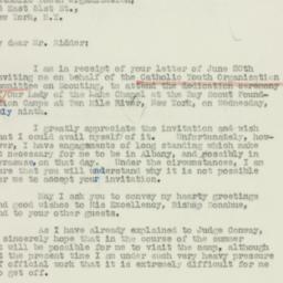 Letter : 1941 June 23