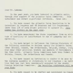 Letter : 1951 November 24