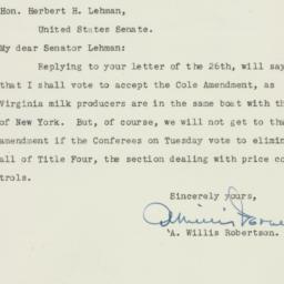 Letter : 1950 August 26