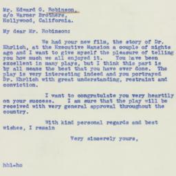 Letter : 1940 February 24