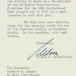 Letter : 1948 October 11
