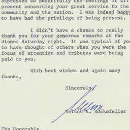 Letter : 1958 April 30