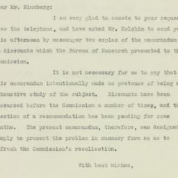 Letter: 1925 December 8