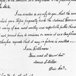 Document, 1798 October 09