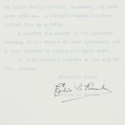 Letter : 1945 July 4