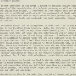 Letter : 1947 June 28