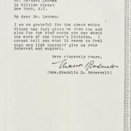 Letter : 1926 February 18