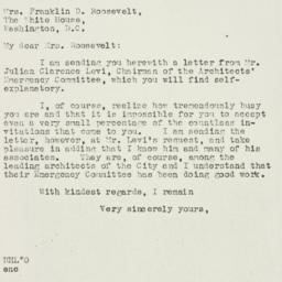 Letter: 1934 February 14