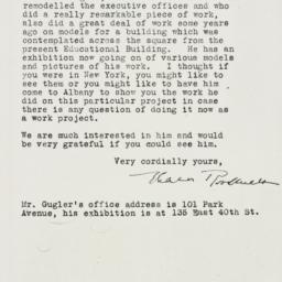 Letter: 1935 April 9