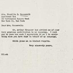 Letter: 1946 October 23