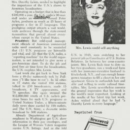Clipping : 1951 July 16