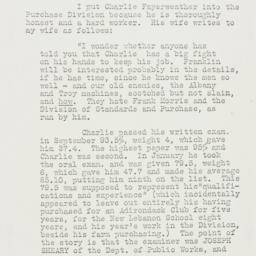 Memorandum: 1933 April 19