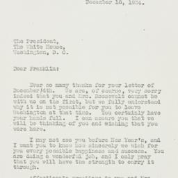 Letter: 1934 December 18