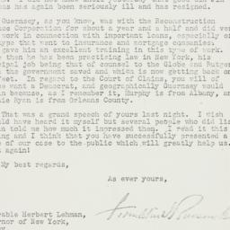 Letter: 1935 January 9