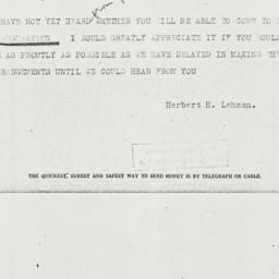 Telegram: 1936 December 28