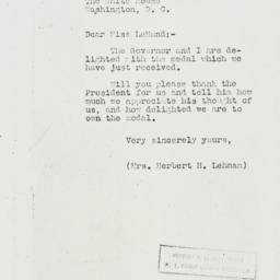 Letter: 1937 January 26