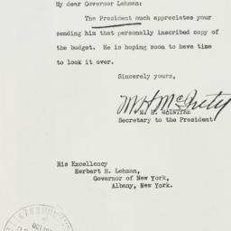 Letter: 1937 October 8