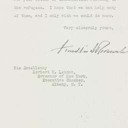 Letter: 1938 April 4