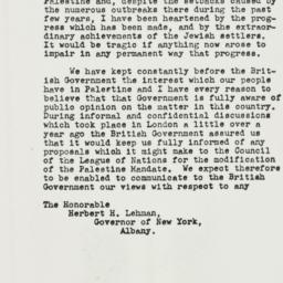 Letter: 1938 October 13
