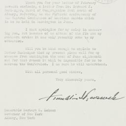 Letter: 1939 March 13