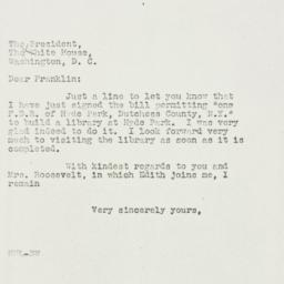 Letter: 1939 May 22