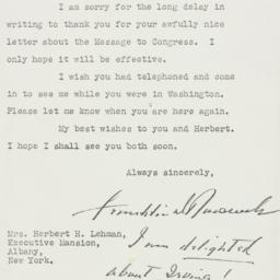 Letter: 1939 October 4