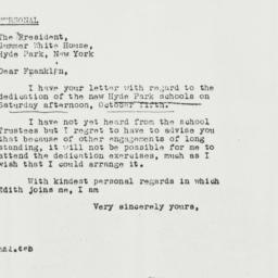 Letter: 1940 September 5