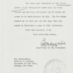 Letter: 1940 October 23