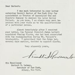 Letter: 1940 October 26