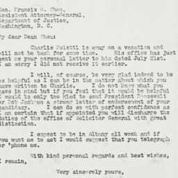 Letter: 1941 July 28